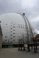 Ericsson Globe Stockholm außen @reisestockholm