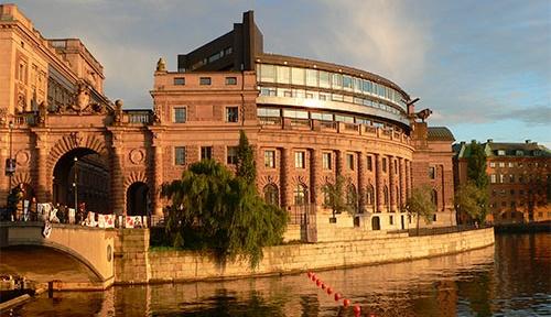 Riksdagshuset in Stockholm @fotoshopped.de