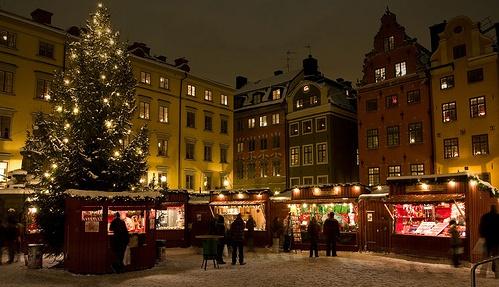 Weihnachtsmarkt Gamla Stan Stockholm - flickr (c) Michael Caven