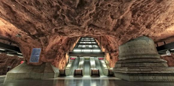 Stockholm U-Bahn