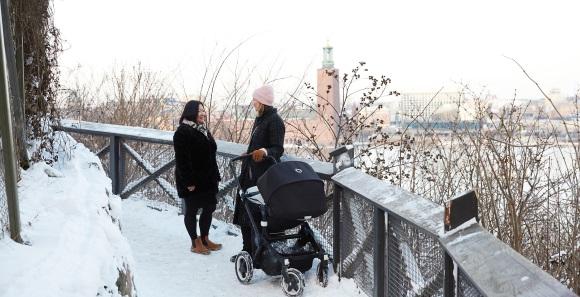 Monteliusvägen auf Södermalm in Stockholm