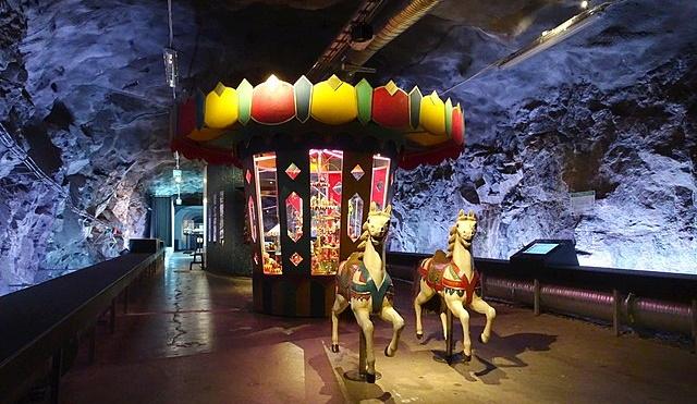 Bergrummet - Spielzeugmuseum in Stockholm auf Skeppsholmen